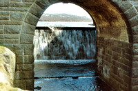 Blackstone Edge Reservoir spillway 1981