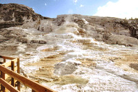 HRS 90 USA Mammoth Hot Springs Yellowstone
