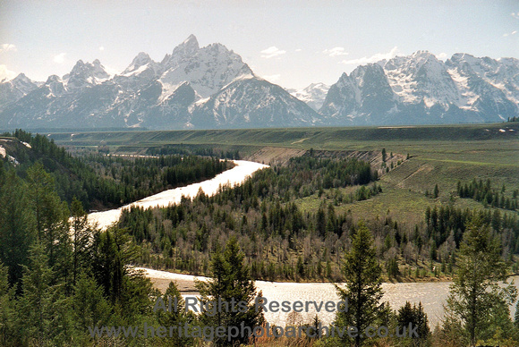 HRS 2656 USA, Grand Tetons