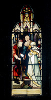 HRS 2775 Radcliffe St John's Church 1970s stained glass window