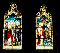 HRS 2777 Radcliffe St John's Church 1970s stained glass windows