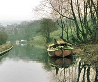 HRS 3856 Peak Forest Canal, Disley 1972