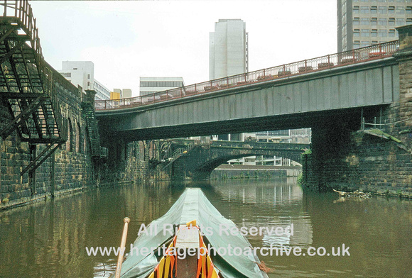 HRS 3939 Irwell, Exchange Bridge Manchester c1980
