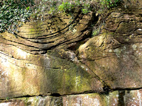 HRS 3282 Chester, Eccleston,Fluvial channels in the Triassic sandstone