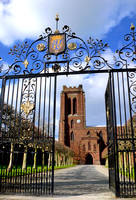 HRS 3278 Chester, Eccleston, St Mary church vertical gates