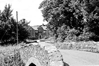 HRS 4337 Cark Hall and bridge,  Lake District c1970s
