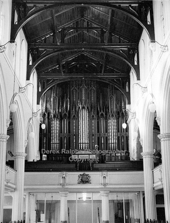 Manchester, Cheetham Hill, St Lukes Church, organ