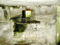 HRS 4881 WW2 pillbox interior Haverthwaite 2010