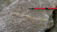 HRS 7404 Shap Pink Quarry Aplites in granite
