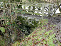 HRS 8824 Haverthwaite, stone footbridge nr Fish House L7710141