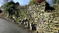 HRS 9108 Haverthwaite, dry stone wall and rock outcrop L7710363