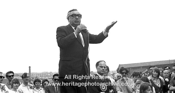 HRS 2077 Lord George Brown Labour MP in Radcliffe 1970