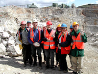HRS 7603 Halkyn, Pant Quarry North Wales geology field trip