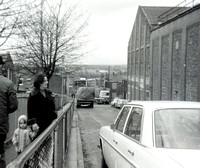 Radcliffe Paper Mill, Rupert St etc Looking down Johnson Street Mother and child