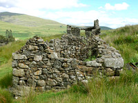 HRS 327 Cwm Ciprwth waterwheel buildings etc