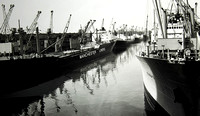 Salford docks Manchester Liners