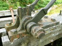 HRS 325 Cwm Ciprwth waterwheel linkage