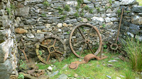 HRS 331 Cwm Ciprwth waterwheel CI wheels