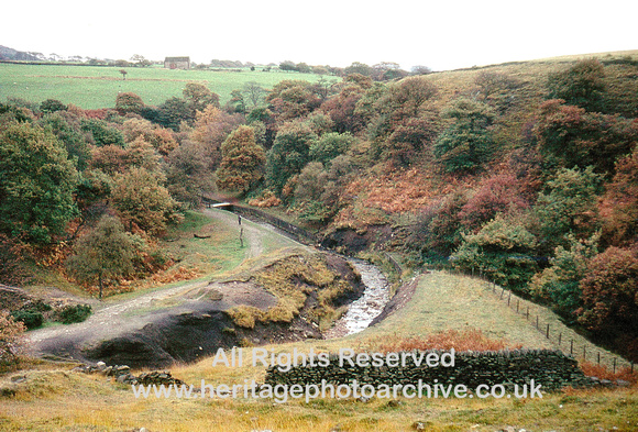 HRS 1686 Anglezarke, Lead Mines Clough c1978