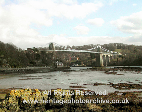 HRS 436 Menai Suspension Bridge