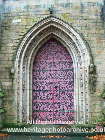 HRS 727 Darcy Lever, St Stephen's church 2006 Wrought-ironwork