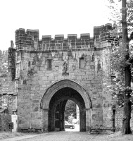 HRS 1644 Whalley Abbey Gateway 1970