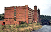 HRS 1663 Irwell Bank Spinning Mills Prestolee 1904 and 1894