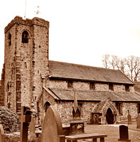 HRS 1642 Whalley Church 1980s