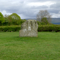 HRS 2296 Long Meg and her daughters stone circle