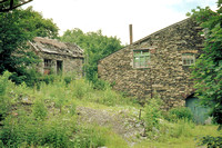 HRS 1314 Backbarrow ironworks, out buildings 1970s