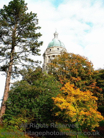 HRS 6864 Lancaster, Ashton Memorial autumn