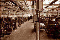 HRS 1211 Radcliffe, Weaving shed general view 1960s